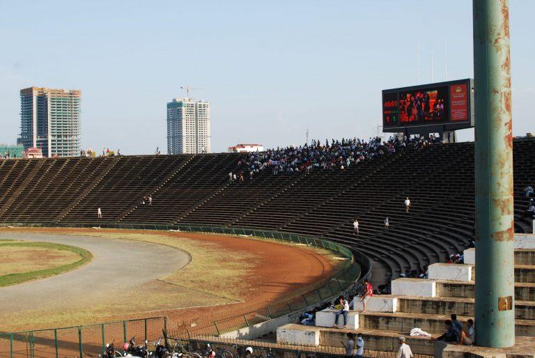 Olympia Stadion in Kambodscha