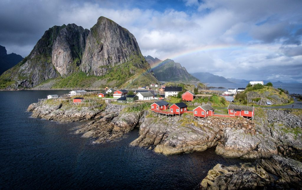 Hamnoy - das wohl meisten fotografierte Motiv Norwegens