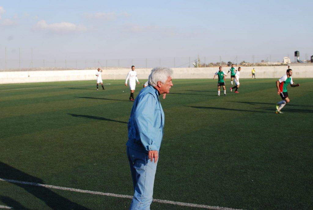 Werner Lorant aus Hebron, Westjordanland.