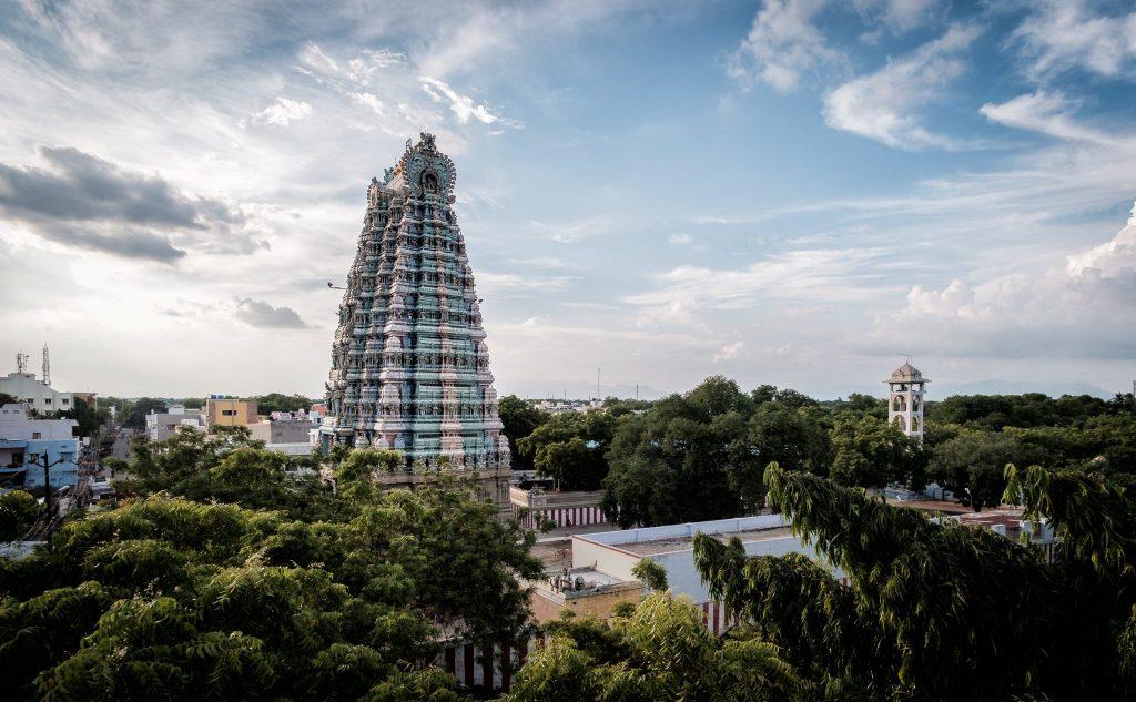 Der Tempel in Sivakasi.