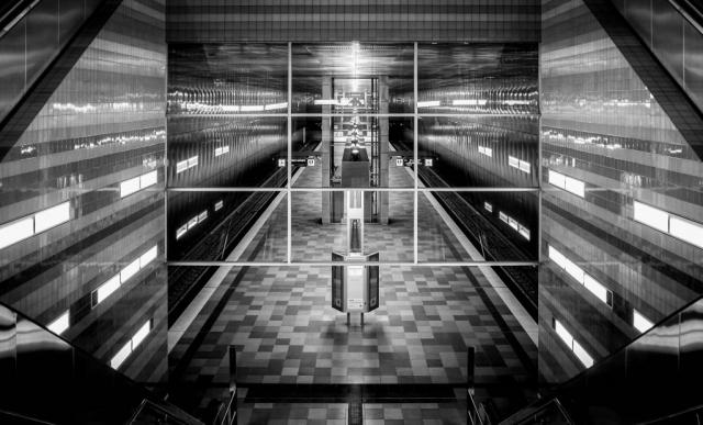 U Bahn Überseequartier