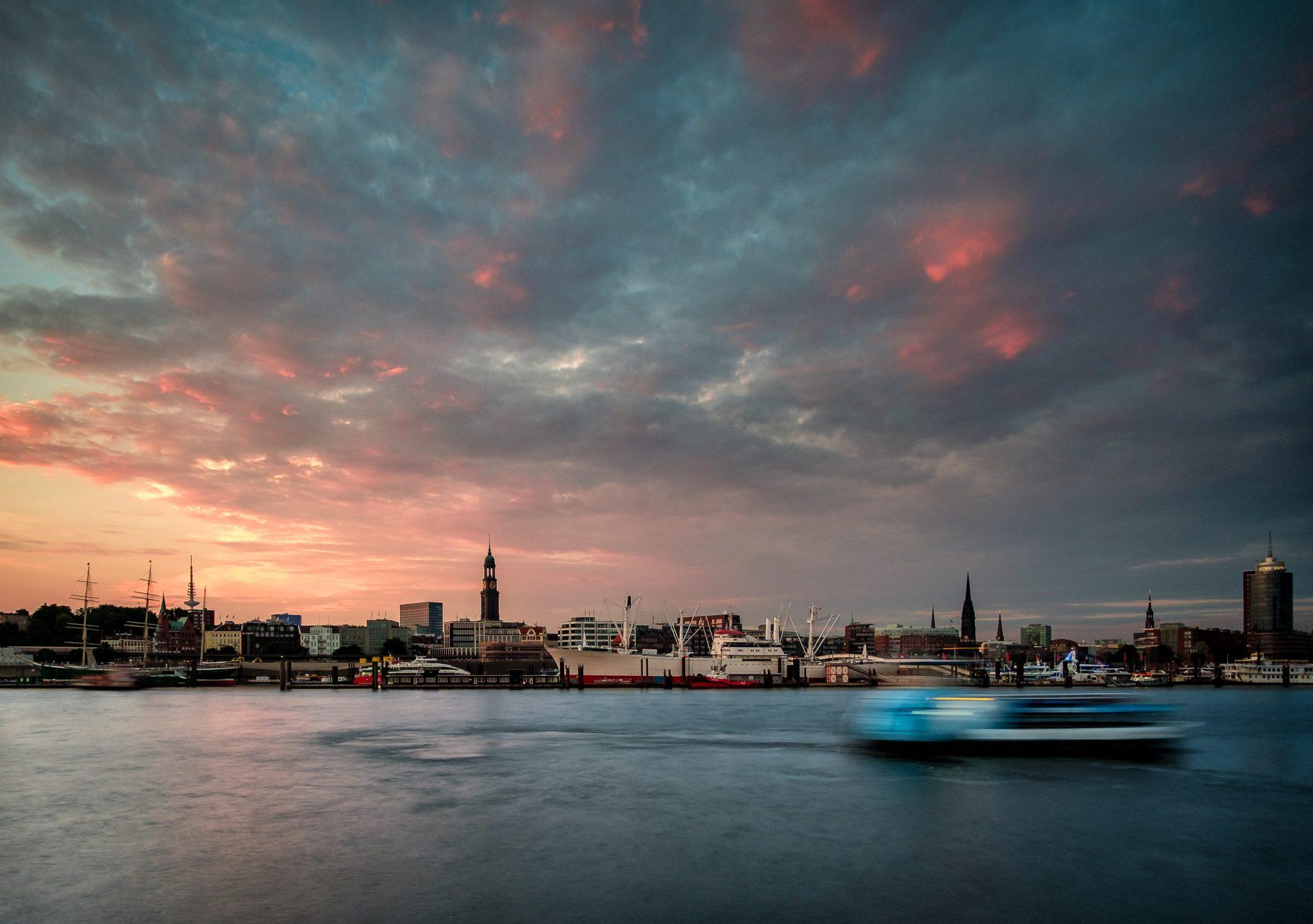 Hamburg im Jahrhundertsommer 2018