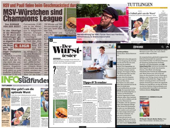 """""""HSV und Pauli fielen beim Geschmackstest durch"""". Natürlich musste BILD mit dem Vorschlaghammer kommentieren ..."""