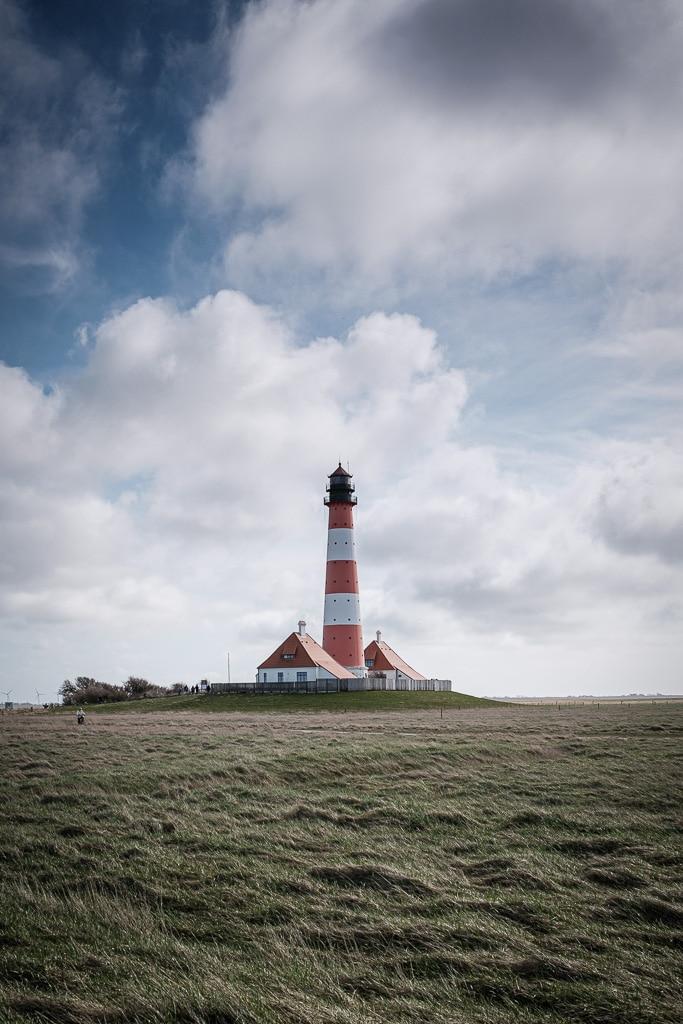 Leuchtturm Westerheversand, Nordsee