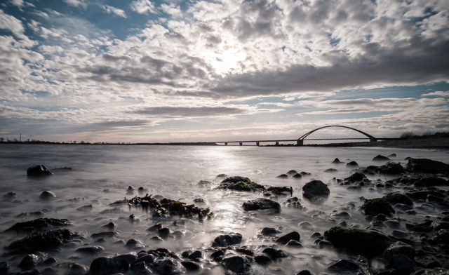 Fehmarnsundbrücke, Fehmarn
