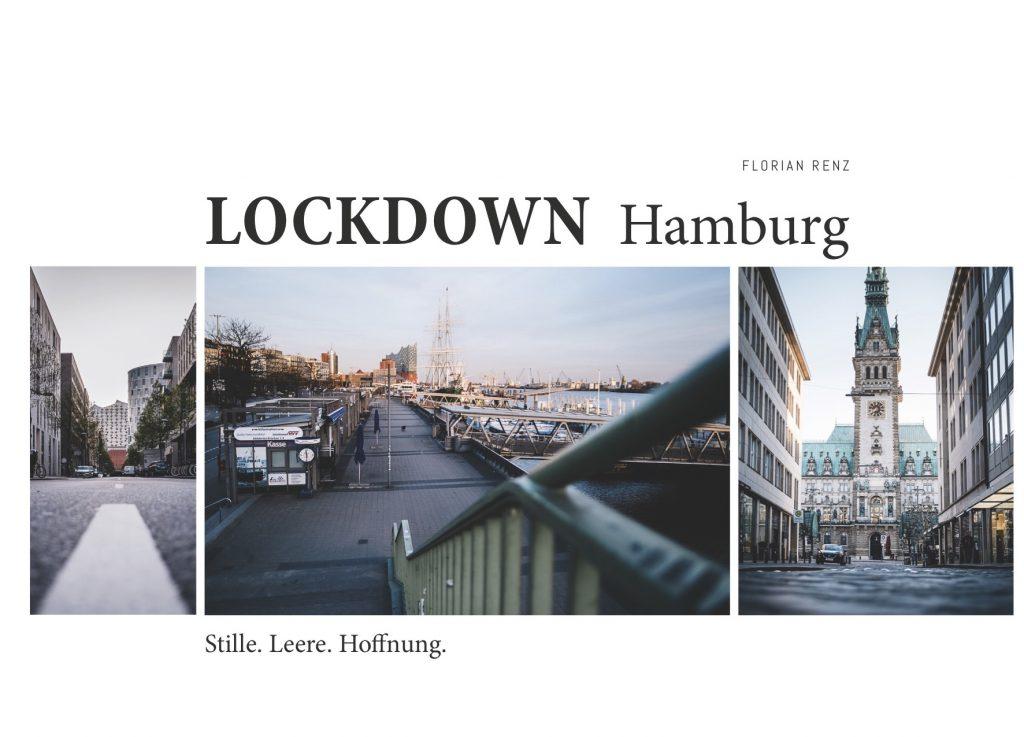 """Das Cover des Bildbandes """"Lockdown Hamburg. Stille. Leere. Hoffnung."""""""