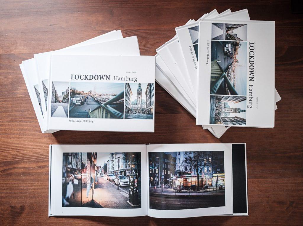 """""""Lockdown Hamburg"""" - gerade ausgepackt, wird auch schon wieder eingepackt ..."""