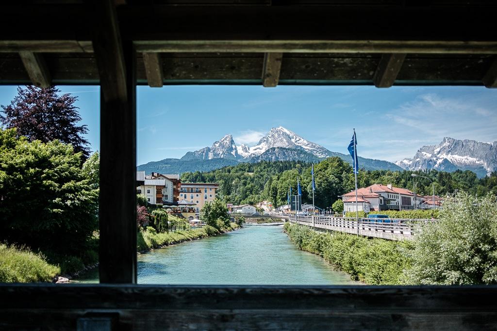 Berchtesgaden und der Watzmann.