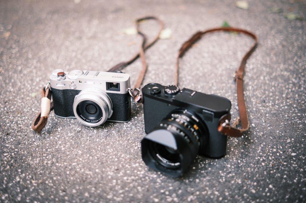 Fuji X100V (links) oder Leica Q2 (rechts)?