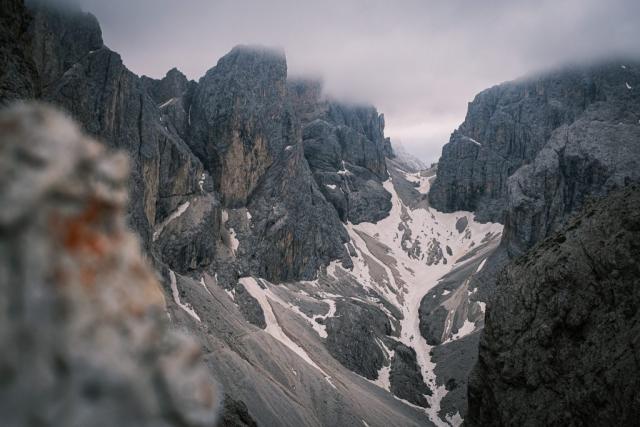 Vom Molignonpass Richtung Grassleitenpasshütte