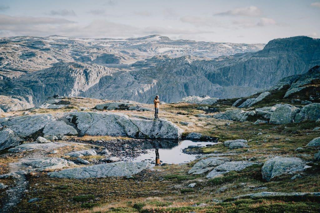 Eine unglaublich tolle Landschaft.