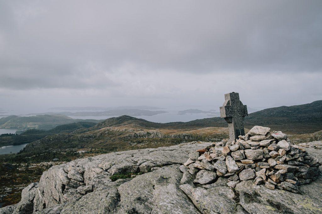 Blick vom Holtaheima-Denkmal ins Tal
